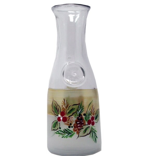 Ducharme Pine Carafe by The Holiday Aisle