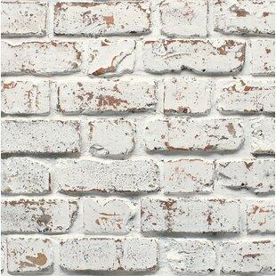 Mccluney 33 L X 20 5 W Brick Wallpaper Roll