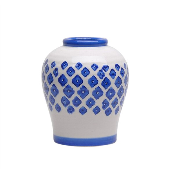 Owlswick Aesthetically Charmed Ceramic Table Vase by Canora Grey