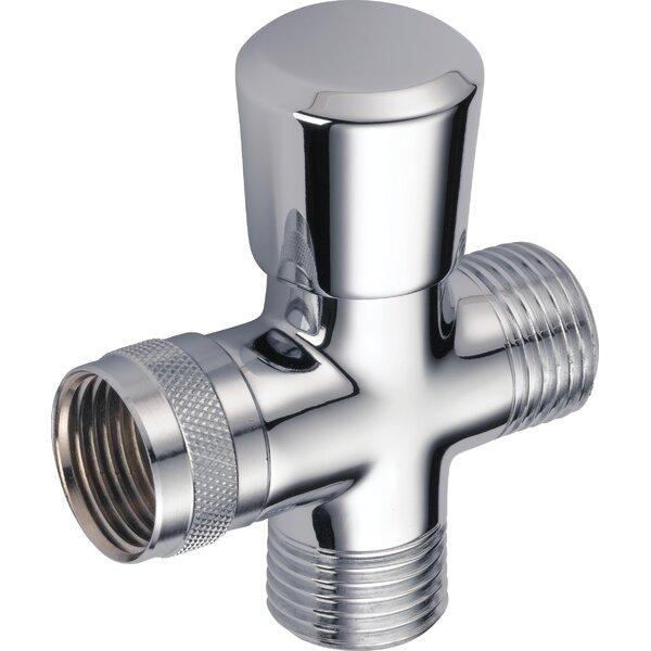 Universal Showering Components Shower Arm Diverter Valve by Delta