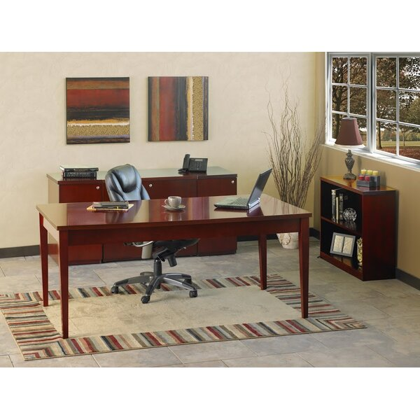 Luminary Series 4-Piece Standard Desk Office Suite by Mayline Group