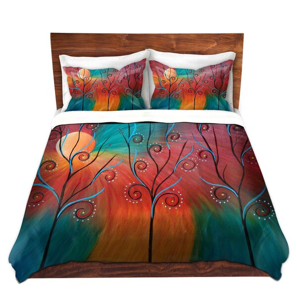 Marinez Tara Viswanathan Peacock Inspiration II Microfiber Duvet Covers