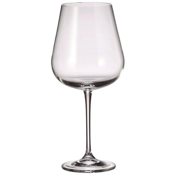 Amundsen 22.65 oz. Stemmed Red Wine Glass by Red Vanilla