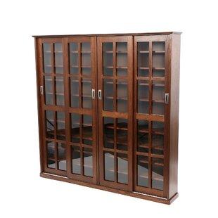 Wood Multimedia Media Cabinet