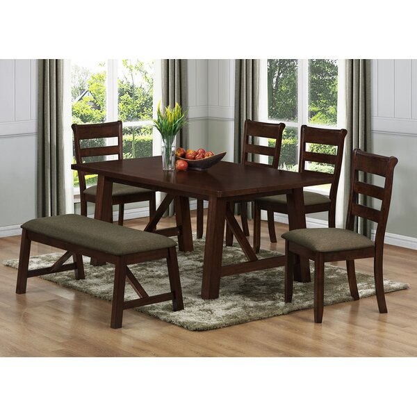 Valencia Solid Wood Dining Table by Milton Green Star