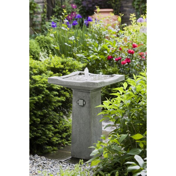 Concrete Bjorn Fountain by Campania International