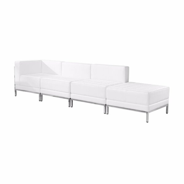 Rosemary Modular Sectional with Ottoman by Orren Ellis