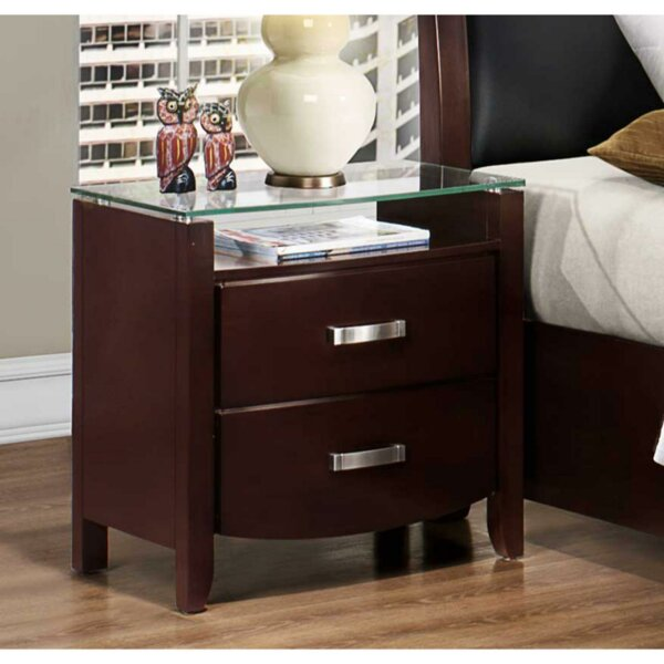 Lana 2 Drawer Nightstand by Red Barrel Studio