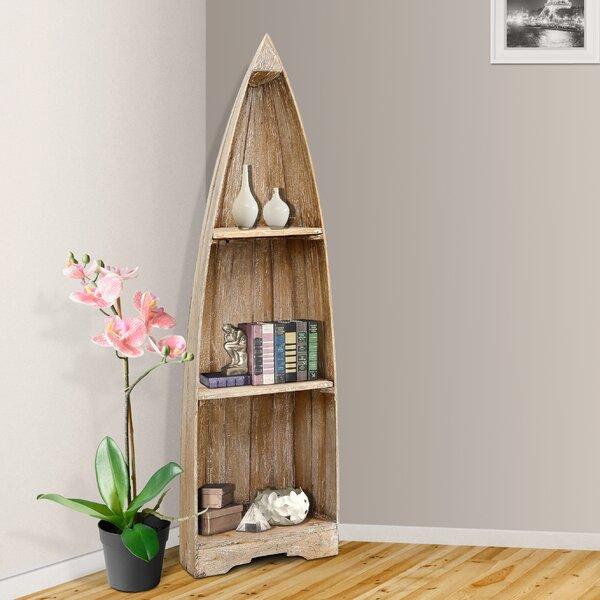 Renwick Small Boat Corner Unit Bookcase by Loon Peak