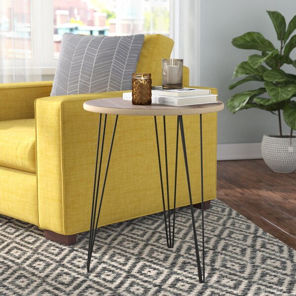 Perryville Wood End Table by Wrought Studio