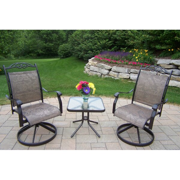 Basile 3 Piece Conversation Set by August Grove