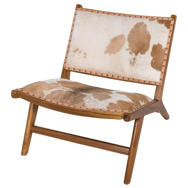 Harley Low Rider Cowhide Guest Chair by Joseph Allen