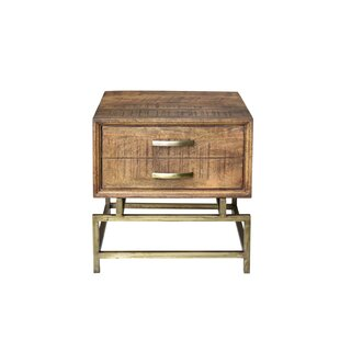 Jeb Sled End Table with Storage by Foundry Select