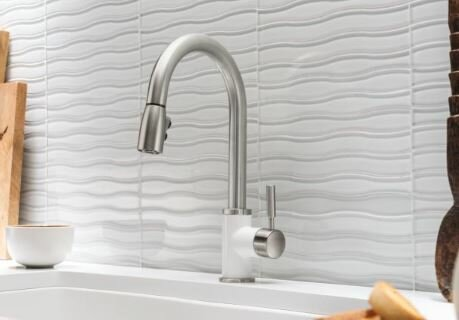 BLANCO SONOMA™ with Pull-Down Spray 1.5 GPM Silgranit by Blanco