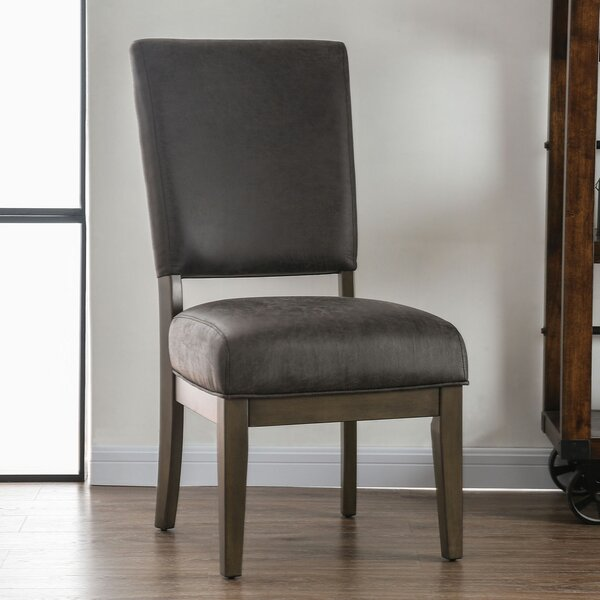 Chilton Upholstered Dining Chair (Set of 2) by Union Rustic
