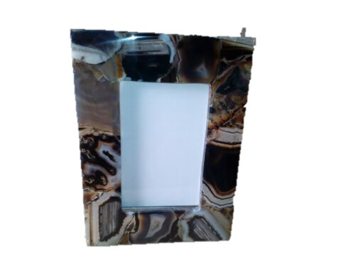 Miya Agate Picture Frame by Bloomsbury Market