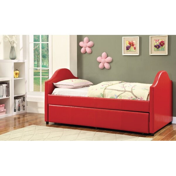 Rhine Twin Panel Bed with Trundle by Hokku Designs