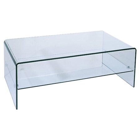 Ryder Coffee Table With Storage Shelf By Hokku Designs