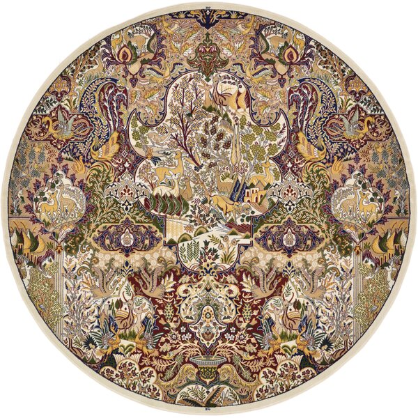 Jeanette Ivory Oriental Area Rug by Bloomsbury Market