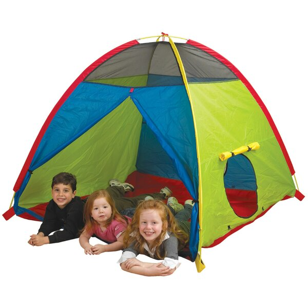 Super Duper 4 Kid Play Tent with Carrying Bag by Pacific Play Tents