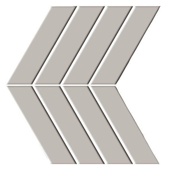 Shape 4.5 x 6.5 Porcelain Mosaic Tile in Brown by Emser Tile
