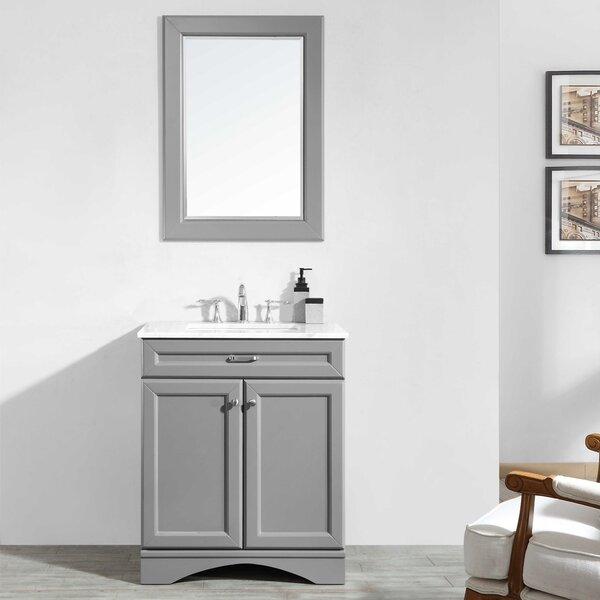 Jonina 30 Bathroom Vanity Set with Mirror by Willa Arlo Interiors