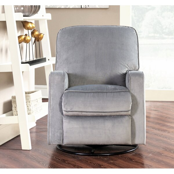 Murphy Reclining Swivel Glider by Viv + Rae