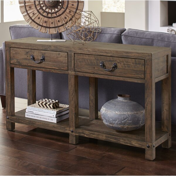 Padron Wooden Console Table By Williston Forge