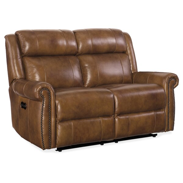 Esme Leather Sectional by Hooker Furniture