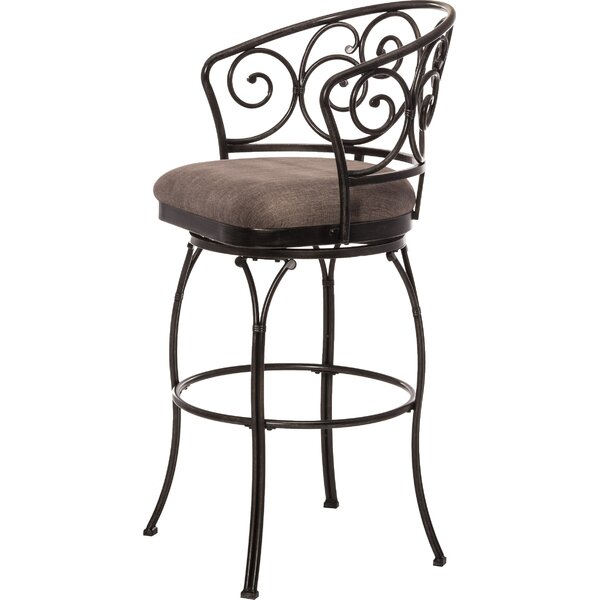 Antin 30 Swivel Bar Stool by Fleur De Lis Living