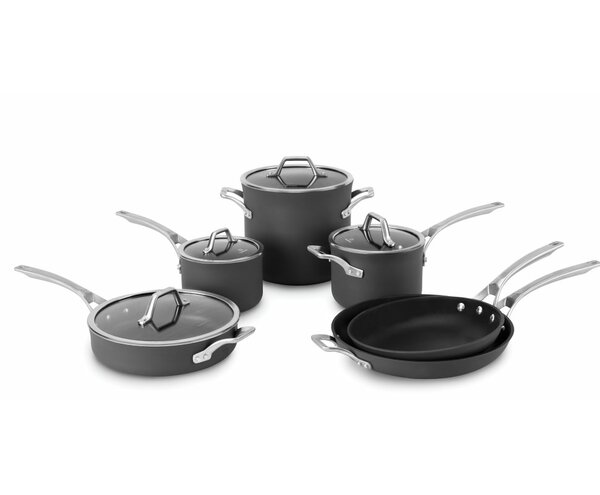 Calphalon Signature™  10 Piece Nonstick Cookware Set by Calphalon