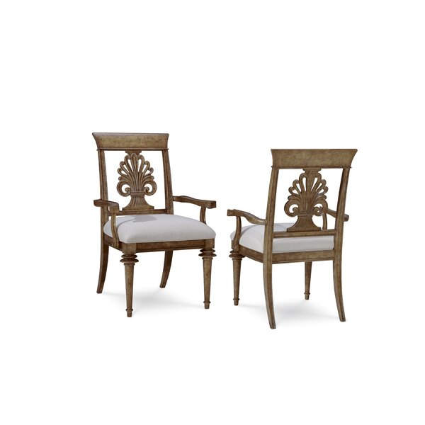 Akdeniz Arm Chair (Set of 2) by Bay Isle Home