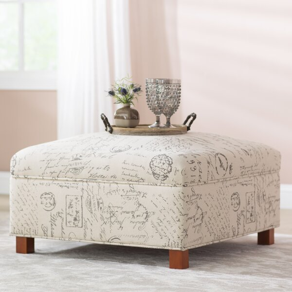 Sartain Storage Ottoman by Lark Manor