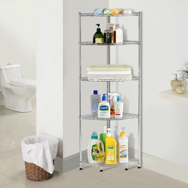 Adjustable Corner Unit Bookcase by Lifewit