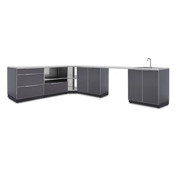 @ Kitchen 8 Piece Outdoor Bar Center Set by NewAge Products| #$4,399.99!