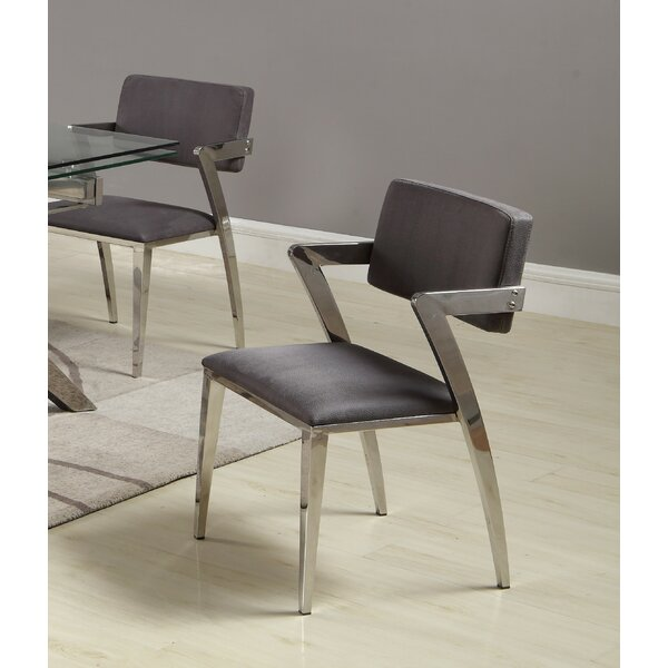 Rosalind Upholstered Dining Chair (Set of 2) by Orren Ellis