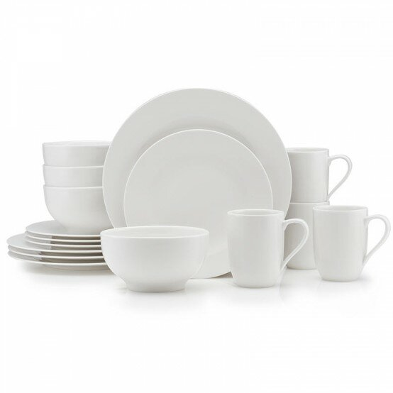 For Me 16 Piece Dinnerware Set, Service for 4 by Villeroy & Boch
