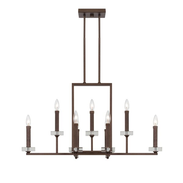 Gilpin 9 - Light Candle Style Classic / Traditional Chandelier by Ebern Designs Ebern Designs