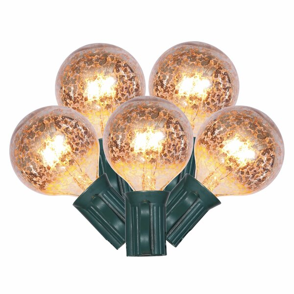 10 Light Patio End Connecting Lights by The Holiday Aisle
