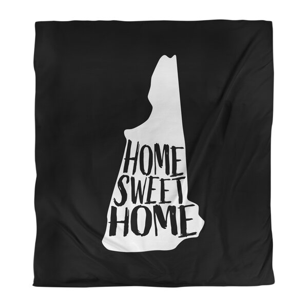 Home Sweet New Hampshire Duvet Cover