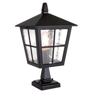 Deals Poppe Pedestal Post Light By Charlton Home
