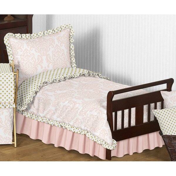 Amelia 5 Piece Toddler Bedding Set by Sweet Jojo Designs