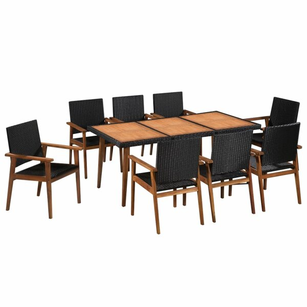 Colmesneil 9 Piece Dining Set by Bay Isle Home