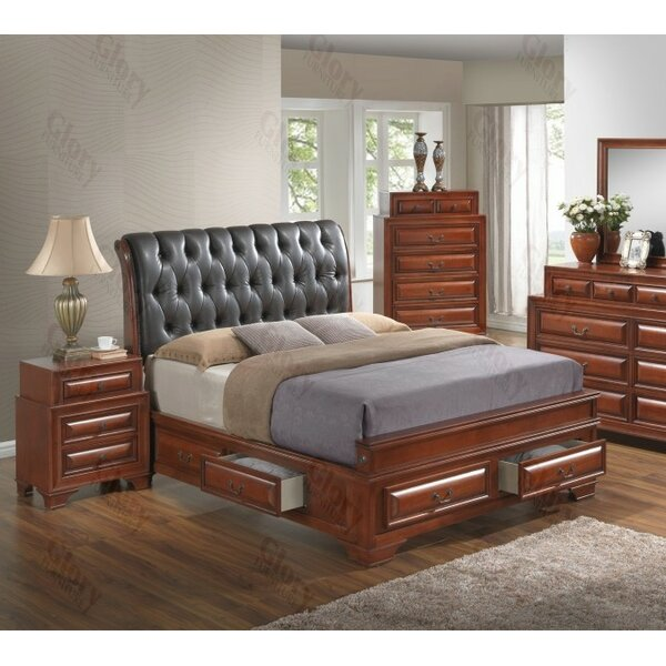 Edwardsville Upholstered Storage Platform Bed by Darby Home Co