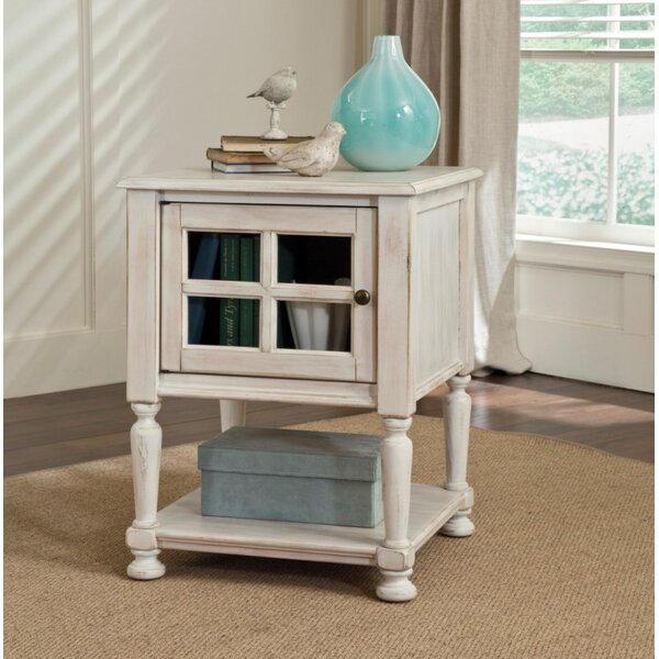 Bezons End Table With Storage by Lark Manor