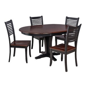 Valleyview 5 Piece Solid Wood Dining Set By TTP Furnish