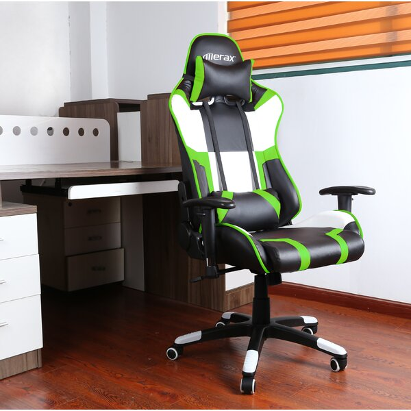 High Back Adjustable Swivel Gaming Chair by Merax