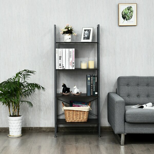 Kamm 4-Tier Ladder Bookcase By Ebern Designs