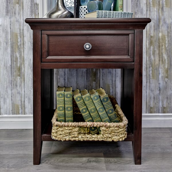 Stpierre 1 Drawer Nightstand by Charlton Home