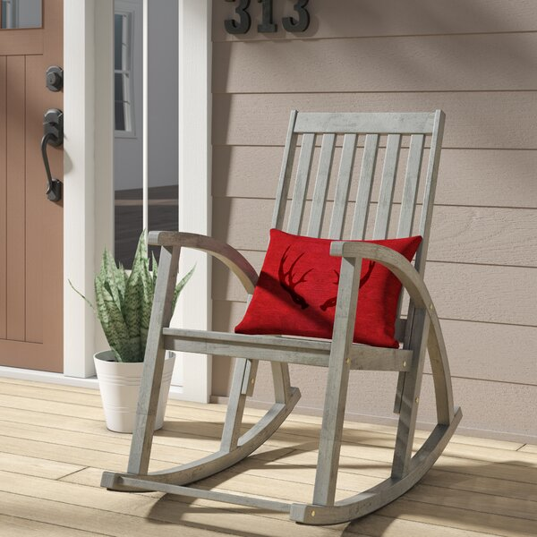 Bross Rocking Chair by Loon Peak